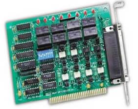 艾雷斯 DAC-7325 继电器控制输出及开关量隔离输入卡