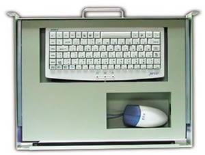 艾雷斯 ACS-2184 1U工业19键盘抽屉