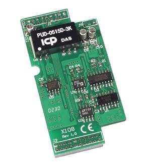 泓格ICPDAS X108 DI/O扩展板