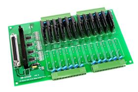 泓格ICPDAS DB-12SSR/DB-12SSRD 端子板