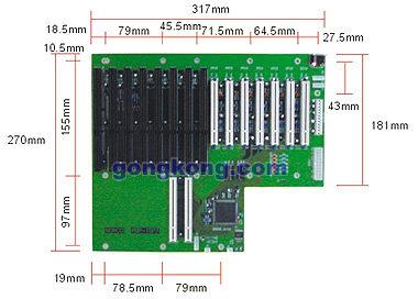 NORCO PBP-15P7工业无源底板
