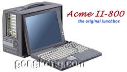 ACME II 系列便携式工业PC