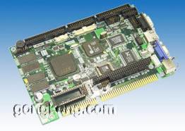 艾雷斯 ACS-6242VE  STPC5X86集成LynxEM+显示低功耗半长卡