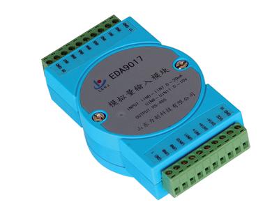 力创 EDA9017 模拟量测量模块(8路0~20mA电流及4路0~10V电压)