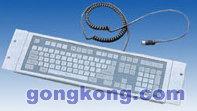艾雷斯 ACS-3052MK 108键轻触式防水薄膜键盘