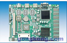 艾雷斯 ACS-6561VE3/P  VIA Eden嵌入式低功耗三网口主板