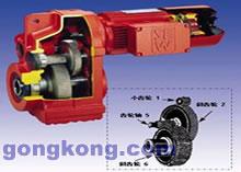 SEW-F系列 平行轴装式斜齿轮减速电机