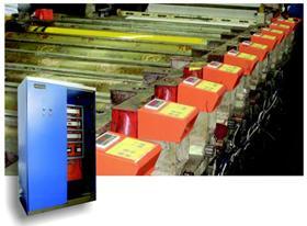 科威自控圆网印花机分电机传动现场总线控制系统