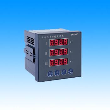 雅达 YD931□ 三相电压多功能数显表