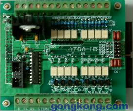 易达 YF0A-MB 带RS232接口的板式PLC
