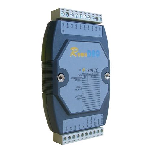 集智达 R-8000系列 R-8017C/R-8017C+数据采集模块
