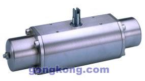 OMAL(欧玛尔) 单动不锈钢316气动执行器
