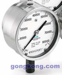 """ASHCROFT(雅斯科) 1109 41/2""""高压压力表"""