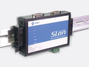 SUNIX工业型 2口 RS-422/485 以太网设备联网服务器 (SL-D0200D)