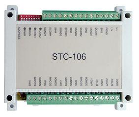 易控微网 STC-106 高性能8路热电阻隔离输入IO模块