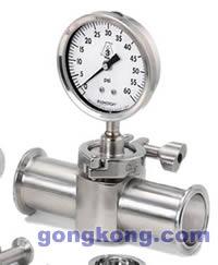 ASHCROFT(雅斯科) 1036卫生型压力表带1037卫生型管件卫生型压力表