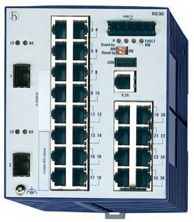 Hirschmann  RS30-2402O6O6SDAEHC千兆一体机交换机