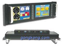 CEIPC-宏瑞 PDS-128 19寸上架式,雙8寸TFT LCD液晶顯示器