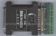 波仕 RS-232/RS-485扩展转换器(将一个RS-232分时扩展为4个RS-485口)4485A