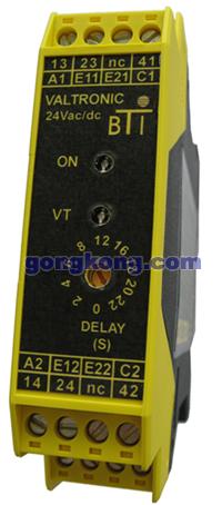 BTI  VALTRONIC 致命危险区监测继电器
