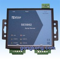 上尚科技单网双串口服务器SE5002 (RoHS compliant)