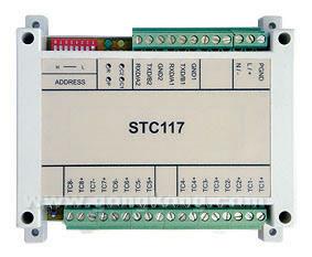 易控微网 STC-117 高性能8路热电偶输入测量IO模块
