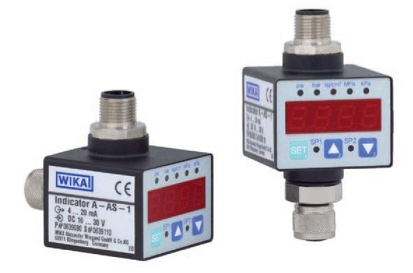WIKA A-AS-1 可带指示器的插装显示温度控制仪