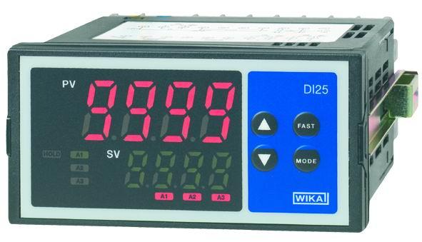 WIKA DI25 面板安装设计,4位数字显示温度显示仪