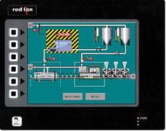 Red lion G308A人机界面—8.4寸LCD真彩人机操作终端