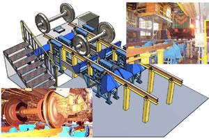 LAP激光全自动车辆车轮和转向架测量系统