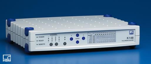 HBM K148用于标定全桥应变放大器