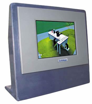 昆仑海岸 KP1063E系列嵌入式一体化工控机
