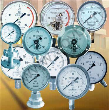华海测控:压力表