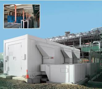 MR 中壓箱式濾波系統和僅需進線聯接的補償系統