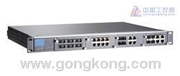 MOXA PT-7828系列-24+4G口模块化千兆IEC61850网管型3层交换机