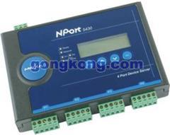 MOXA NP5430-4串口RS422/485设备联网通讯服务器