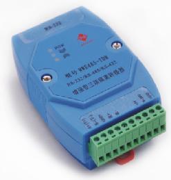 迈威RS-232/RS-485/422增强型三端隔离转换器MWE485-TDM