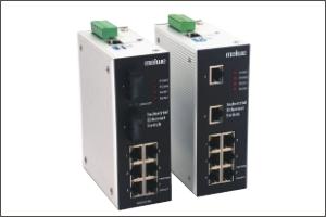 迈威冗余型卡轨式工业以太网交换机MIEN3208