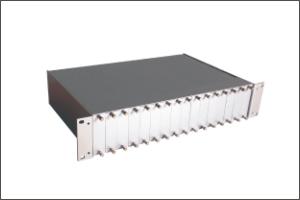 迈威12口光纤收发器机架MT-R12-2