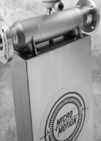 高准D和 DT型质量流量和体积密度传感器—带 MVD™ 技术