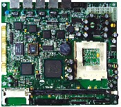 祈飞 PRA-NB-8368VE4 P3级4网口嵌入式主板