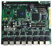 祈飞 PRA-NB-8552VE8 P3级8网口嵌入式主板