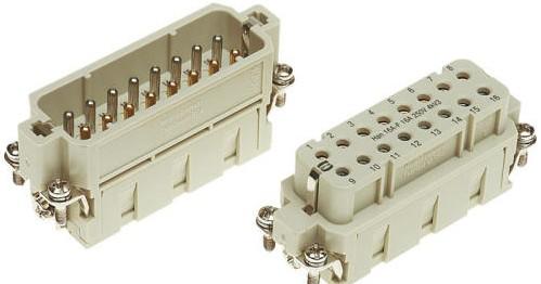 HARTING- 工业用 Han薄型结构连接器