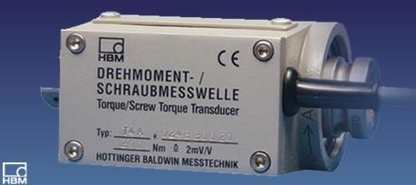 HBM T4A 轴端/螺纹轴端 扭矩传感器