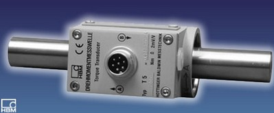 HBM T5  轴端摩擦力连接扭矩传感器