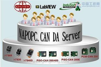 泓格 NAPOPC.CAN DA Server V2.0升级版