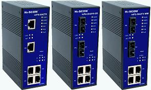 HIPS-2042TX/HIPS-2042FX简易网管PoE型工业以太网交换机