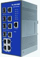 HIGS-3044GC千兆网管型8口工业以太网交换机