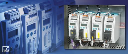HBM PME 与fieldbus连接的工业测量仪表