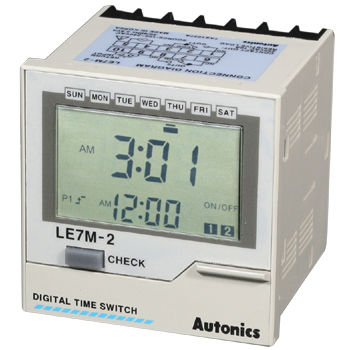 Autonics LE7M-2數字型周/年計時器